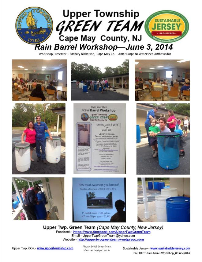 Successful Rain Barrel Workshop